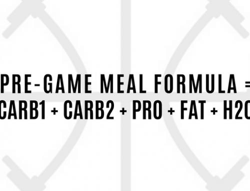 PRE-GAME MEAL FORMULA