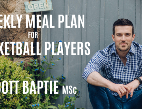 Weekly Meal Plan For Basketball Players w/ Scott Baptie, MSc